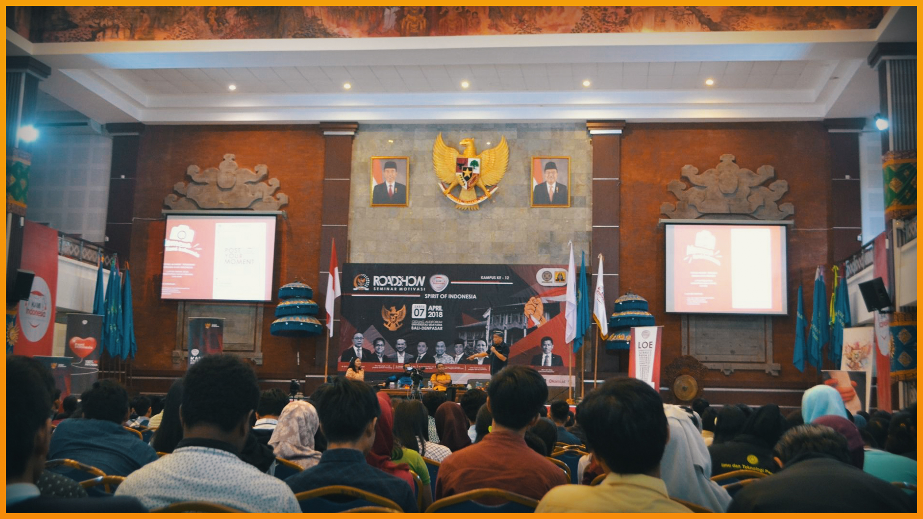 "Seminar Motivasi ""Spirit Of Indonesia"""